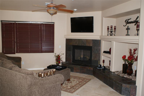 The Ranch House living area - structured sober living in Scottsdale, Arizona